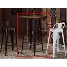 吧檯椅 SB-411-2 韋恩2尺木面咖啡色吧台椅 【大眾家居舘】