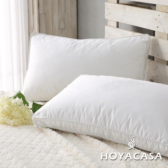 100%水鳥羽絲絨枕(高支撐型)-HOYACASA羽織柔眠(一入)