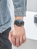 手錶男士2021新款概念防水時尚學生潮流運動全自動機械錶電子男錶 貝芙莉
