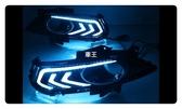 【車王汽車精品百貨】福特 Ford Mondeo 2014 日行燈 晝行燈 霧燈框改裝 野馬款 帶轉向 三色款