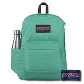 【JANSPORT】SUPERBREAK PLUS 系列後背包 -經典藍綠(JS-43511)