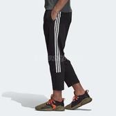 adidas 九分褲 Summer Track Pants 黑 白 三條線 男款 【PUMP306】 DU1113