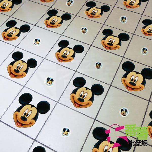 迪士尼 Disney 造型磨砂防滑夜光貼紙/浴室/樓梯安全防滑片(1入) [CK1] - 大番薯批發網