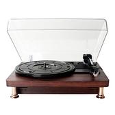 現貨-黑膠唱機唱片機發燒復古唱片機唱盤機電唱機家用