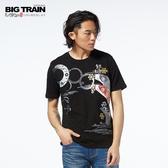 Big Train 鯉魚旗圓領短袖-男-Z80125