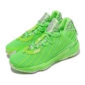 【海外限定】adidas 籃球鞋 Dame 7 GCA 螢光綠 男鞋 Damain Lillard 愛迪達 【ACS】 FY2797