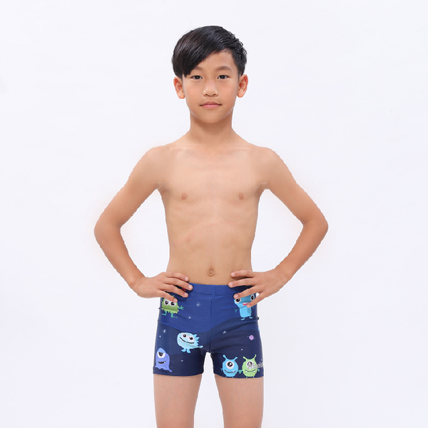 ≡MARIUM≡ 小男平口泳褲-MONSTER MAR-20140J