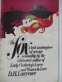 【書寶二手書T1/原文小說_AYU】The Fox_D.H.Lawrence