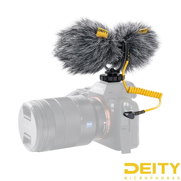 Aputure Deity 愛圖仕 V-Mic D4 DUO 專業麥克風 雙頭收音 機頂麥克風 公司貨