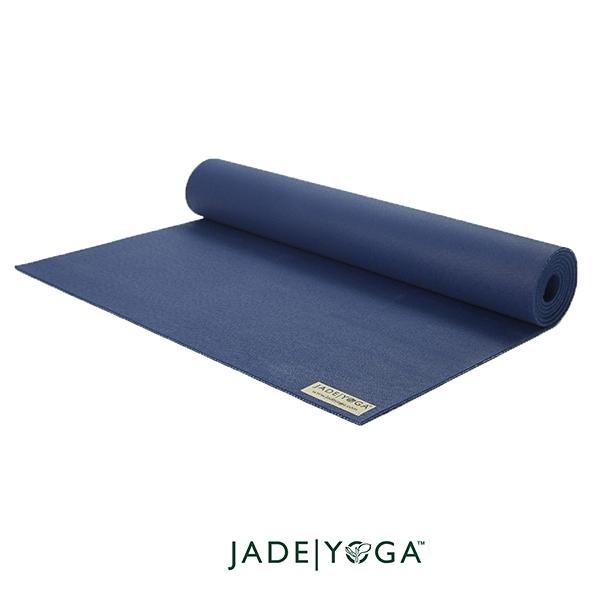 Jade Yoga 天然橡膠瑜珈墊 Harmony Mat 4.8mm 188cm - 午夜藍