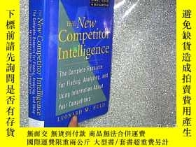 二手書博民逛書店The罕見New Competitor Intelligence