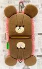 【震撼精品百貨】上學熊The bears school~日本兩用擦手巾-粉*76756