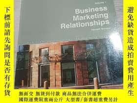 二手書博民逛書店Business罕見Marketing Relationship