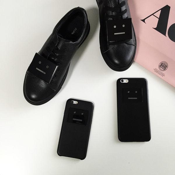 6S 免運 笑臉創意簡約 情侣款閨蜜款 iPhone6 6s 6puls 手機套(任選二件$900)