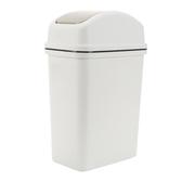 大號搖蓋壓圈垃圾桶家用臥室客廳紙簍 創意廚房衛生間塑料垃圾筒   LannaS