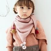 兒童圍巾春秋冬季薄款韓版男童可愛女圍脖公主寶寶嬰兒小孩三角巾 童趣