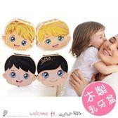 木製彩色嬰兒乳牙盒保存收藏盒 創意實木收藏盒 繁體中文版