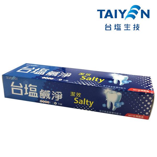 台鹽 鹹淨潔效牙膏150g