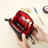 隨身化妝包小號便攜口紅收納袋簡約防水大容量韓國小號淑女洗漱包 晴天時尚館