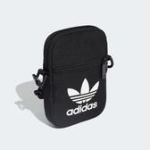ADIDAS TREFOIL FESTIVAL BAG 黑 白logo 方形 三葉草 側背 小包  (布魯克林) EI7411