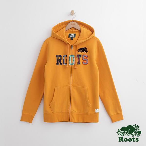 Roots-男裝-周年系列 蘇格蘭紋連帽外套 - 黃色