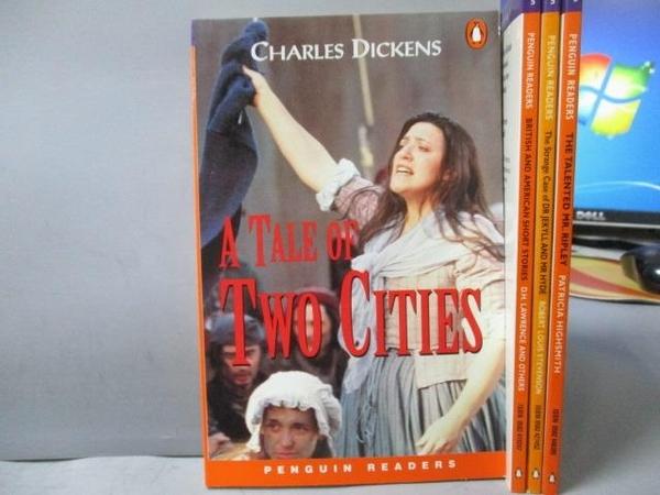 【書寶二手書T9/語言學習_OAG】A Tale of two cities_The Talented Mr.Riple