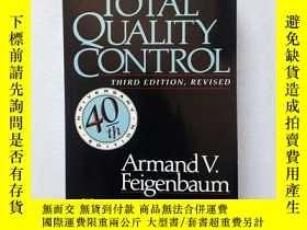 二手書博民逛書店TOTAL罕見QUALITY CONTROL(英文原版) Y11016 A.V.Feigenbaum McGr