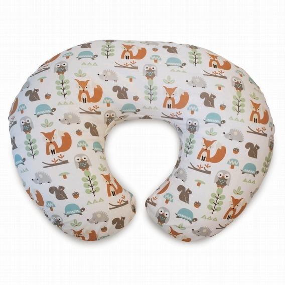 Chicco Boppy純棉多功能授乳枕 (自然樂林) /哺乳枕.媽媽枕.樂活枕.育嬰枕.靠墊