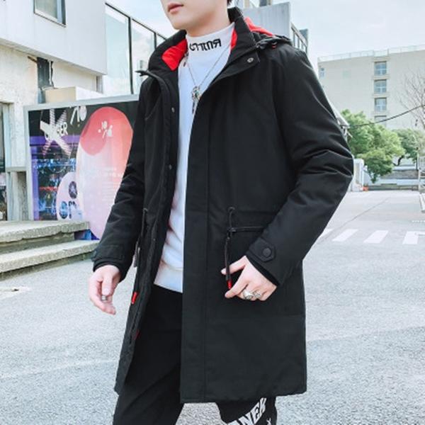 韓版外套羽絨外套 冬季潮流棉服上衣 休閒棉衣夾克外套加絨 工裝潮流男生外套 男士外套棉襖