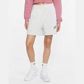 Nike NSW Short FT M2Z 女款 灰白 棉質 慢跑 休閒 短褲 CU6406-094