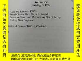 二手書博民逛書店PERSUASIVE罕見BUSINESS PROPOSALSY1