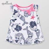 Hallmark Babies 竹系列-女嬰美人魚短袖上衣 HF1-F74-04-BG-PN