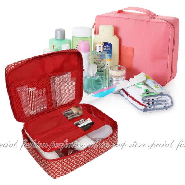 【GE318】手提式盥洗包 收納包 旅行化妝包 沐浴收納包★EZGO商城★