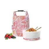 桶裝食物袋/粉紅葉子【Roll'eat西班牙食物袋】