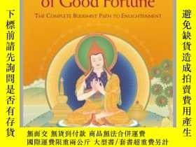 二手書博民逛書店【罕見】Joyful Path of Good Fortune: