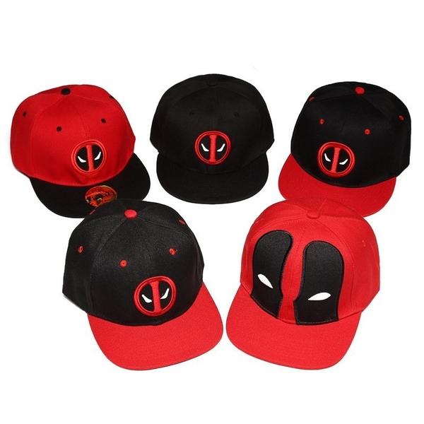 FIND 韓國品牌棒球帽 男女情侶款 嘻哈潮流 Deadpool刺繡  帽子 太