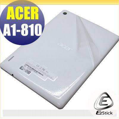 【EZstick】ACER ICONIA A1-811 A1-810 7.9吋系列專用 二代透氣機身保護貼(平板機身背貼)DIY 包膜