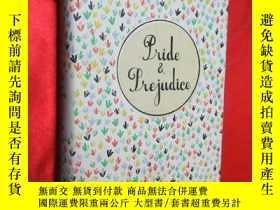二手書博民逛書店Pride罕見and prejudice (硬精裝) 【詳見圖】