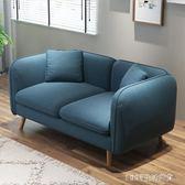免運精品 沙發現代簡約客廳整裝小戶型北歐布藝雙人三人沙發igo 居家寢具