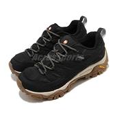 Merrell 戶外鞋 Moab 2 GTX 黑 棕 女鞋 Gore-Tex 防水 透氣 越野 休閒鞋 運動鞋【ACS】 ML035512