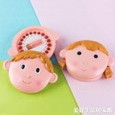 乳牙紀念盒女孩兒童嬰兒胎毛掉牙換牙保存收藏盒可愛日本牙屋男孩 美好生活