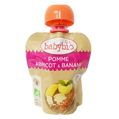 BABYBIO 香蕉杏桃纖果泥-90g