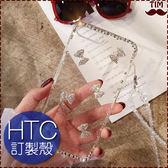 HTC U19e U12+ U12 life Desire12s U11+ EYEs UUltra 蝴蝶結邊鑽 手機殼 水鑽 透明殼 保護殼