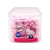 Hello Kitty 超韌牙線棒300入(盒)【小三美日】