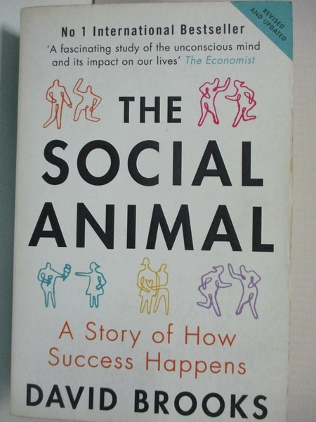 【書寶二手書T6/勵志_B5Q】Social Animal: A Story of How Success Happens_David Brooks