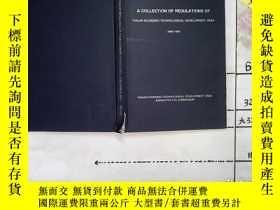 二手書博民逛書店英文版:A罕見COLLECTION OF REGULATIONS