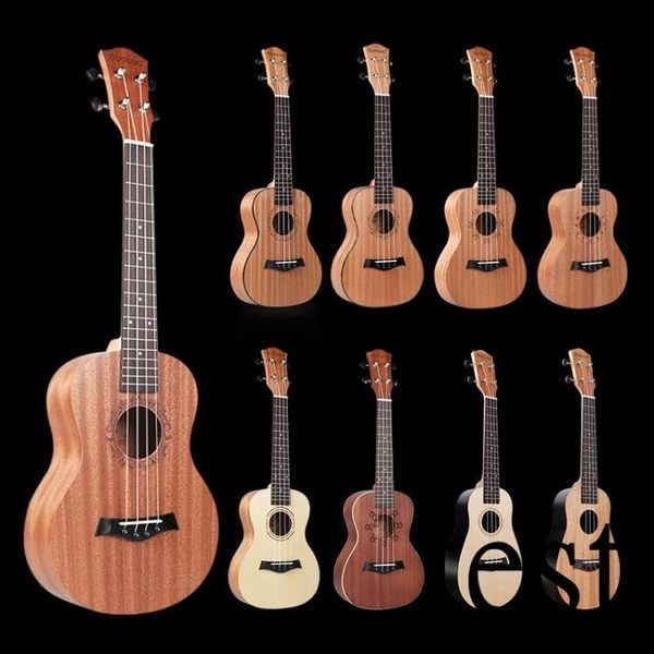 烏克麗麗尤克里里初學者學生成人女21寸23寸兒童初學入門小吉他樂器XW