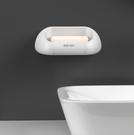 肥皂架 雙層肥皂盒架子創意瀝水衛生間免打孔洗衣肥皂盒吸盤壁掛式香皂盒【快速出貨八折鉅惠】