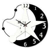田園創意鐘錶掛鐘客廳現代簡約歐式臥室掛錶藝術時鐘靜音個性裝飾第七公社