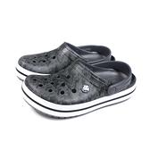Crocs 休閒鞋 涼鞋 防水 黑色 男女鞋 206474-02W no014